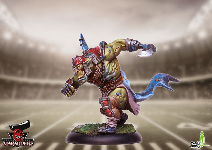 Sharki: the Shark Hunter miniature