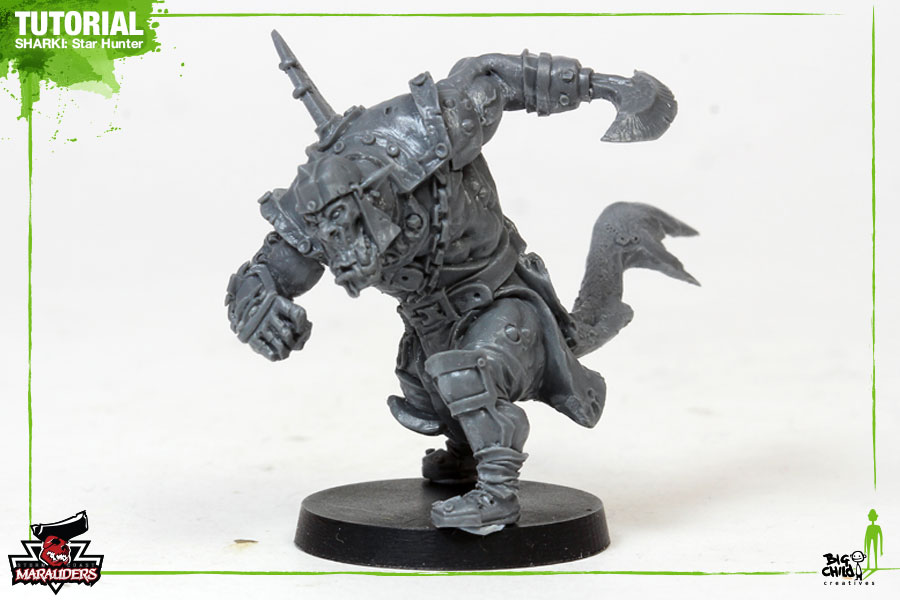 Miniature Painting Tutorial: Sharki Star Hunter
